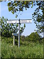 TM4580 : Roadsign on Wangford Road by Adrian Cable