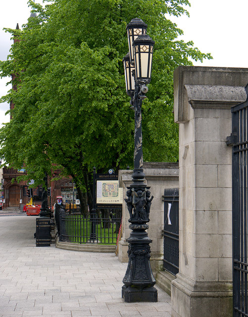 Lamppost, Belfast City Hall