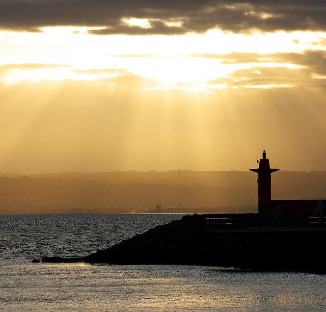 Sunset, Bangor