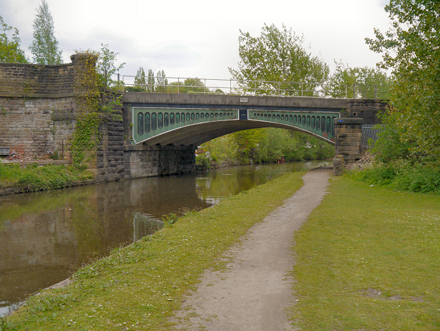 Peak Forest Canal, Railway Bridge at Dukinfield