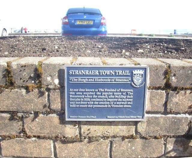 'STRANRAER TOWN TRAIL'