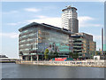 SJ8097 : BBC Quay House, MediaCityUK by David Dixon
