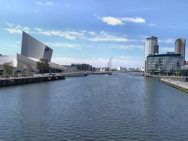 Manchester Ship Canal, MediaCityUK