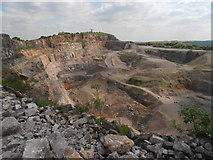 SK3455 : Cliff Quarry by Row17