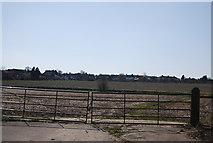 TQ5571 : Hawley across the fields by N Chadwick