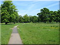 NY4156 : In Rickerby Park by David Purchase