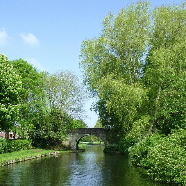 Barnhurst Bridge at Pendeford, Wolverhampton