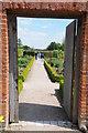 TL3351 : Doorway into kitchen garden by Philip Halling
