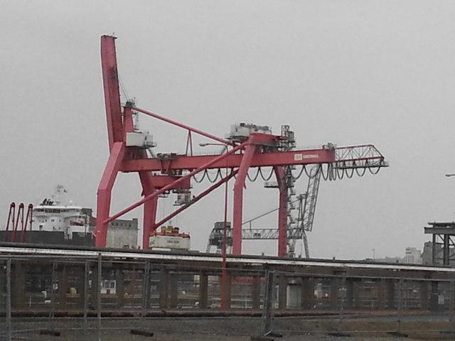 Avonmouth Crane