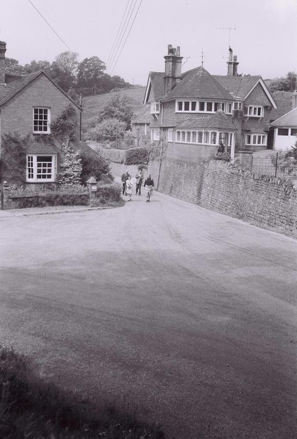 Hambledon Village, Surrey, 1958