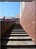 NT6779 : East Lothian Townscape : Steps by Richard West