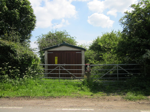 Electricity Substation on Borras Road