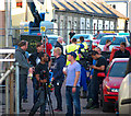 J5082 : 'Our Robot Overlords' film set, Bangor by Rossographer