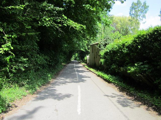 Park Lane heading East
