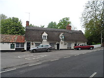 TL5646 : The Dog and Duck pub, Linton by Bikeboy