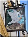 SW9972 : The Swan Hotel, Wadebridge by Ian S