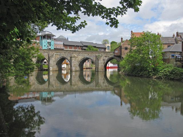 Elvet Bridge, Grade I listed