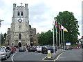 TL3800 : Waltham Abbey church by Malc McDonald