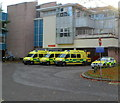 SO9521 : Emergency ambulances, Cheltenham by Jaggery