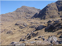 NM9095 : Southwest slopes of Garbh Chioch Mhor by Sally