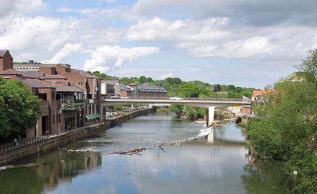 Milburngate Bridge, Durham