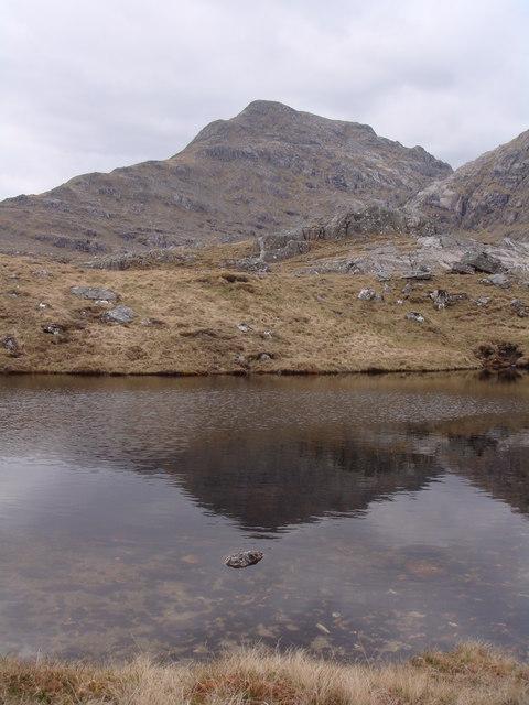 Lochan on Druim nan Uadhag