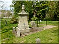 NS4763 : Robert Tannahill's grave by Lairich Rig