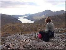 NM8994 : Westwards from Druim nan Uadhag by Sally