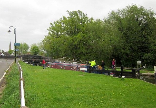 Weybridge Lock