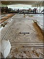 SU8304 : Fishbourne Roman Palace: Covered excavation by Rob Farrow