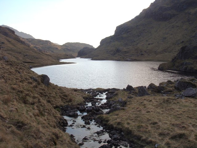 Evening at lower Lochan a' Mhaim