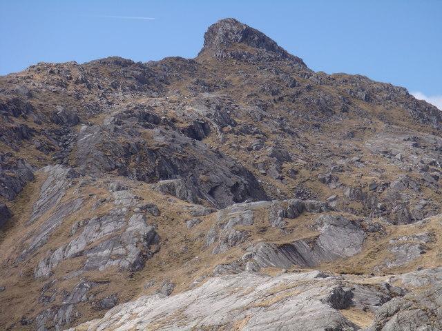 Druim Coire nan Laogh - southwest end