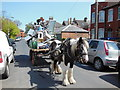 TA0831 : A rag and bone cart on Beech Grove, Hull by Ian S