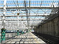 NT2673 : Waverley Station's new roof by M J Richardson