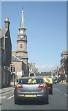 NO8785 : Traffic lights in Stonehaven by Stanley Howe
