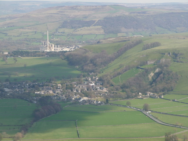 Castleton: view from Mam Tor