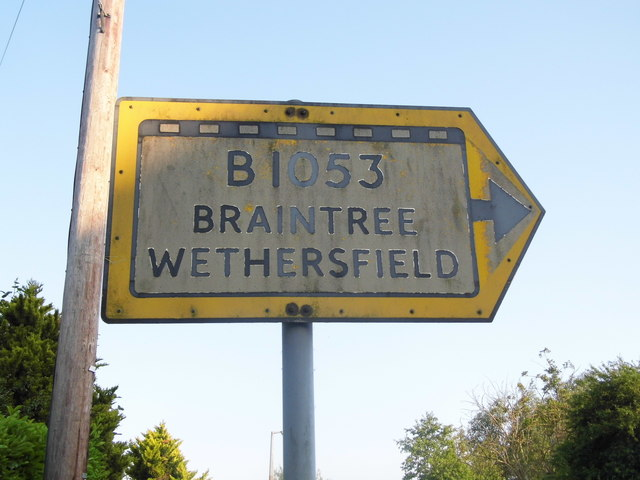 Pre-Worboys sign, Bocking Church Street