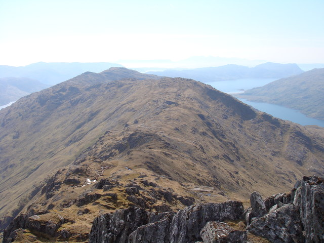 West from Sgurr na h-Aide
