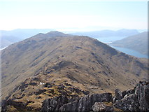 NM8893 : West from Sgurr na h-Aide by Sally