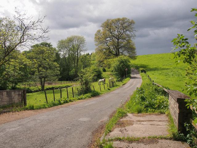 Murrayshall Road, by Annaty Burn