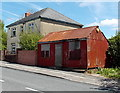 SO1500 : Rusty corrugated building, Aberbargoed by Jaggery