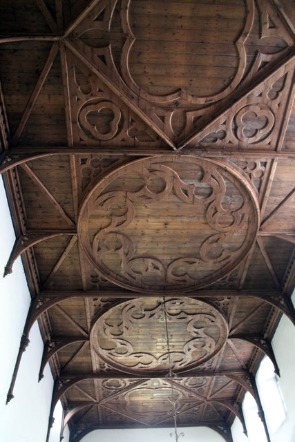 Nave ceiling, St Martin's church, Owston Ferry