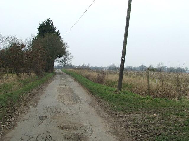 Footpath Off High London Lane