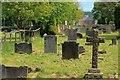 NZ0737 : Wolsingham Cemetery by Mick Garratt