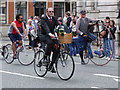SJ8397 : Greater Manchester Cyclists, Manchester Day Parade by David Dixon