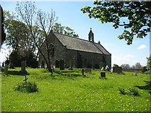 NY9369 : The church of St Oswald in Lee, at Heavenfield by David Purchase