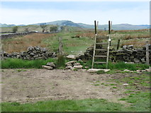 NY8470 : The Hadrian's Wall Path heading for Sewingshields by David Purchase