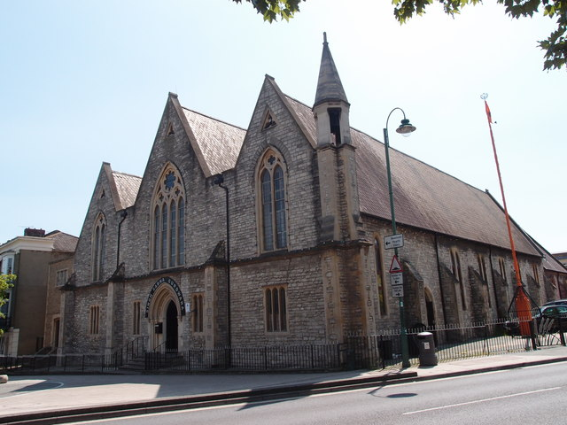 Former St Luke's Church, Newtown, Southampton