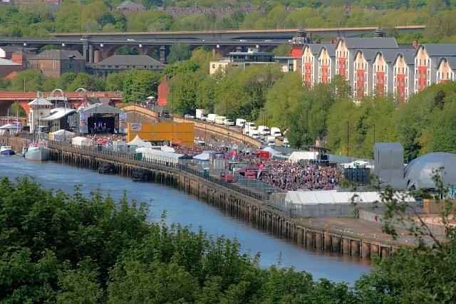 Music Festival, Quayside