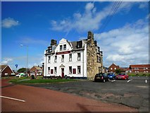 NZ3475 : The Delaval Arms, Old Hartley by Bill Henderson